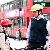 Closca foldable helmet in London