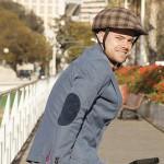 [:en] Custom chequered brown Cover Collapsible Helmet [:es] funda personalizada cuadros marrones casco plegable