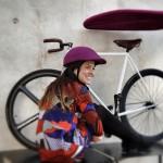 [:en] Custom Cover purple Collapsible Helmet [:es] funda personalizada casco plegable morada